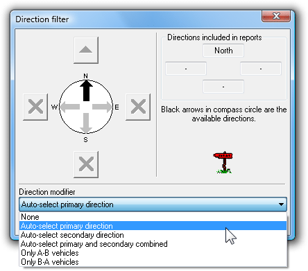 Auto-selecting the primary direction